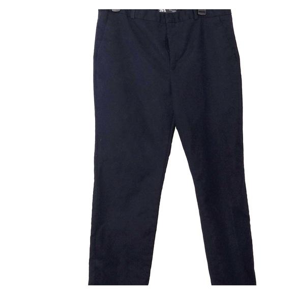 Zara Pants - Zara Navy Blue Chinos with Pockets